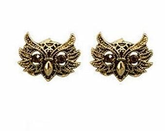 Wise Owl Stud Earrings