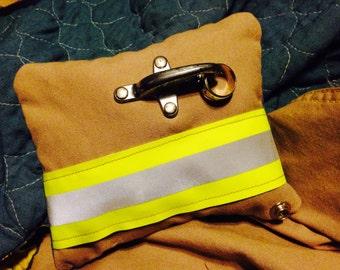 Firefighter Turnout Gear Ring Barer Pillow
