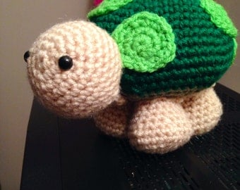 Sheldon The Crochet Turtle