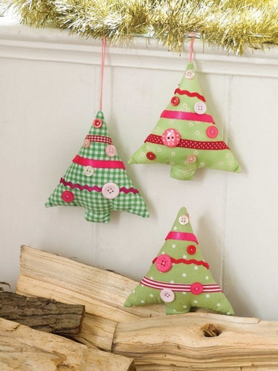 Free Christmas Tree Decoration Sewing Patterns : Christmas tree decorations sewing pattern