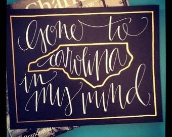Carolina In My Mind Print