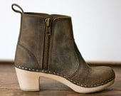 "Edith Zipper Boot 2-3/4"" Heel"