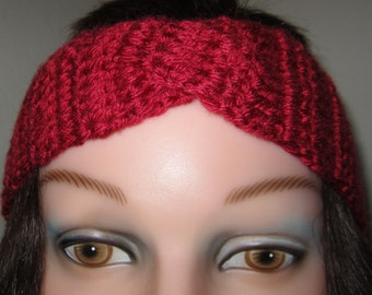 Headband, Woman's crochet accessory for her hair.