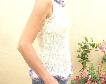 Beautiful   Hand Knit   Top Spring Summer   Autumn