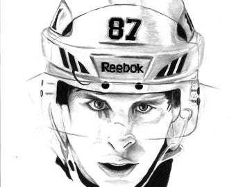 sidney crosby coloring pages