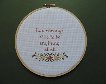 Neutral Milk Hotel - Into the Aeroplane Over the Sea - Cross Stitch