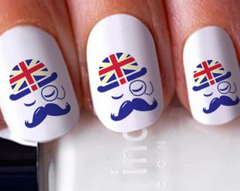 Popular Items For Flag Nails On Etsy