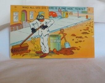 Africana postcard