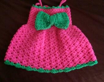 baby bow dress