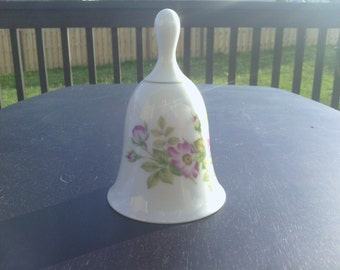EXCLUSIVE HALLMARK Porcelain Bell, 1977.
