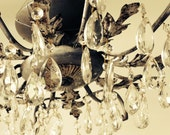 Refinished Vintage Chandelier