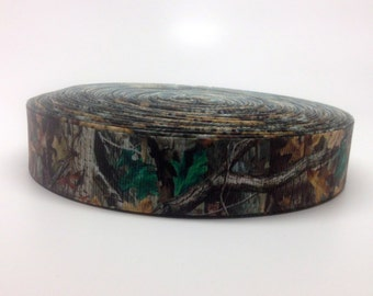 1 Inch Realtree Camo Grosgrain Ribbon