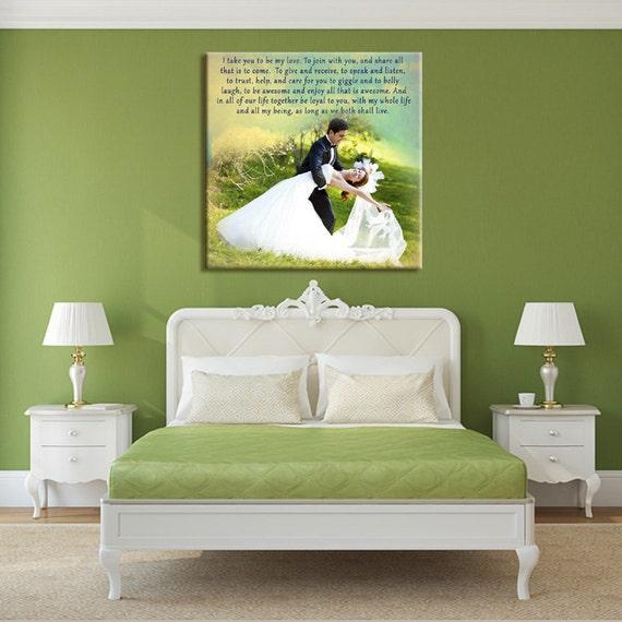 Personalised Wedding Gift Canvas : Wedding Gift First Dance Custom Canvas Print. Wedding Songs, Lyrics ...
