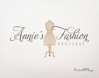 Premade logo -Fashion boutique logo - Logo design - Watermark106