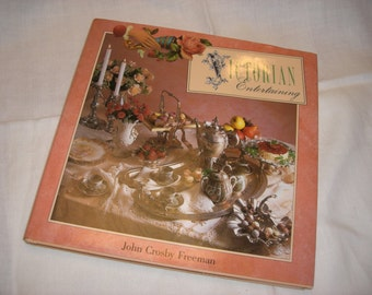 "Book - ""Victorian Entertaining"" - Vintage"
