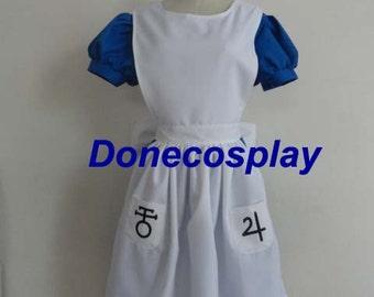 Alice in Wonderland The Madness Returns Cosplay Costume Alice-Madness Returns Alice Cosplay Costume