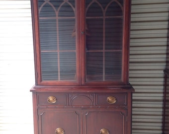 Vintage Double Door China Hutch-Paint to Order!