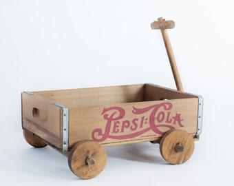 Newborn Prop Vintage Pepsi-Cola Wagon