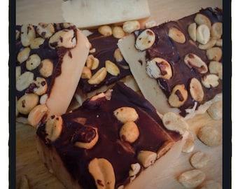 ARTISANAL FUDGE - Peanut Butter - Homemade Fudge - Candy - 1 Lb. - Peanut Butter Fudge -