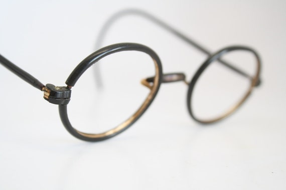 Eyeglass Frames Oval : Vintage Glasses Frames Oval Eyeglass Frames by ...
