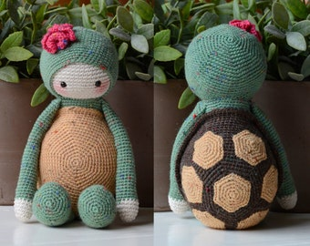 Crochet Pattern - Krissie the Turtle