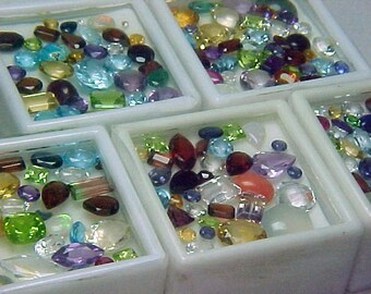 Premium Loose Mixed Gemstone Boxed 20+ Carat Parcel Lot~BUY 2 GET 1 FREE#1457.B