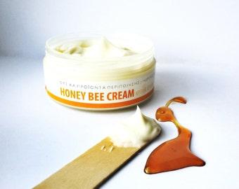 Organic Hands Cream, Honey and Aloe, Honey Cream, Aloe Vera Cream, Organic Moisturizer, Healing Hands Cream, Natural Hands Cream