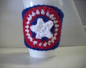 Captain America Shield Cup Cozy