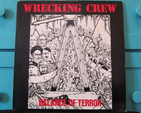 Wrecking Crew - Balance of Terror Vinyl Record