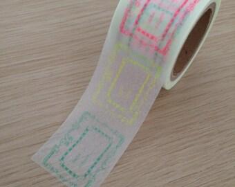 Label washi tape (W04)