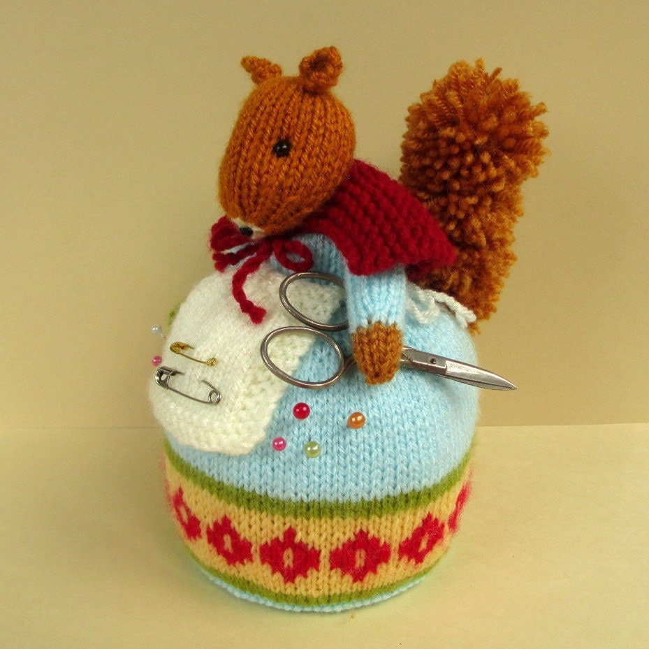 How to knit pin cushion vintage