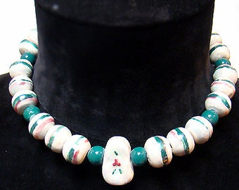 Cafe Society Collection:  Hand Crafted Ceramic Beads