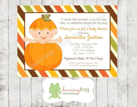 Autumn Baby Shower Invitations was beautiful invitations design
