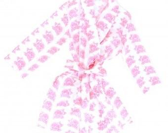 Pink Rose Robe
