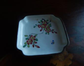 CHINA ENAMEL TRINKET Dish