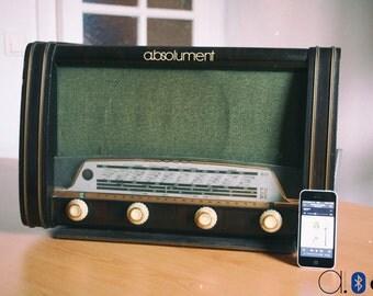 "Bluetooth ""Radio Pathé"" vintage radio (50W)"