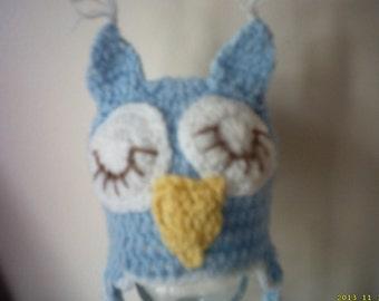 toddler boys owl hat , owl hat age 1-2, toddler boy hat, crochet toddler hat, photo prop, baby hat