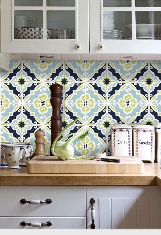 Kitchen Bathroom Tile Decals Vinyl Waterproof Removable