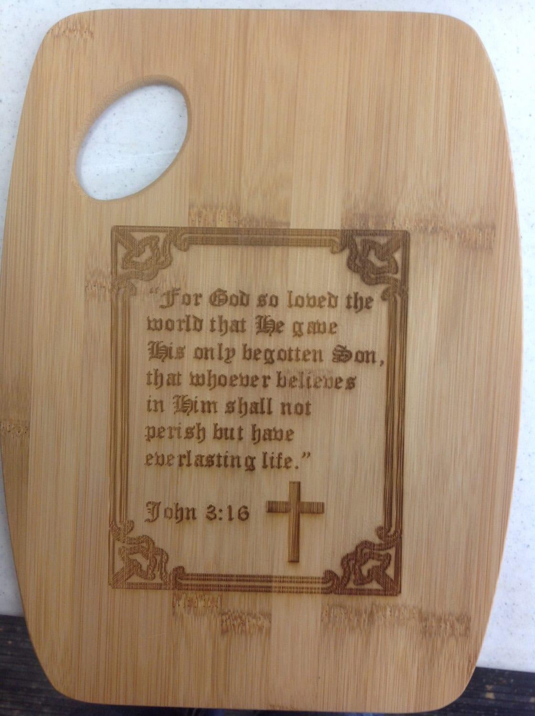 Beautiful Engraved Bamboo Cutting Board By Mybrandedcreations