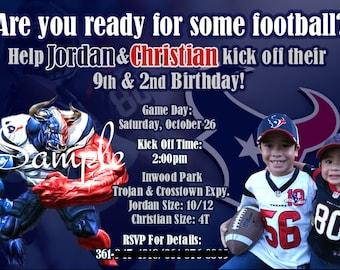Houston Texans Invite