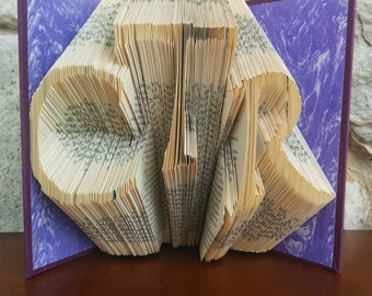 CTR - Folded Book Art - Fully Customizable, Choose the Right, LDS