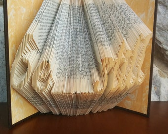 be still - Folded Book Art - Fully Customizable, LDS, religious