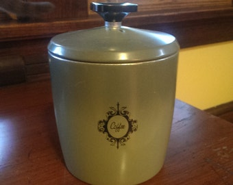Vintage Mid Century West Bend Coffee Canister