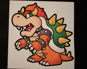 Bowser Sticker Decal