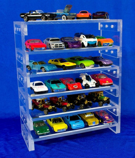 Toy Car Rack : Collectable toy car display rack scale by ksmocreations