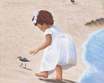 Wedding Party Dress - 16x20 inch giclee print on canvas