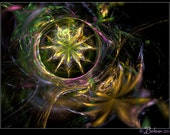 Fractal print: Well at the Worlds End