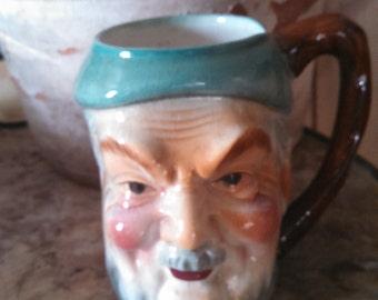 Vintage Toby Fisherman/Pirate Mug in Wonderful Colors