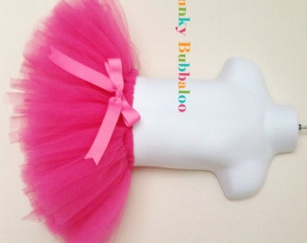 Hot Pink Handmade Sewn Tutu, Babies, Toddlers and Girls, Full & Fluffy, Special Occassion, Birthday Party
