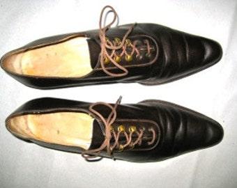 Stephane Kelian # Paris # vintage shoes # 90's # leather # size 5 1/2